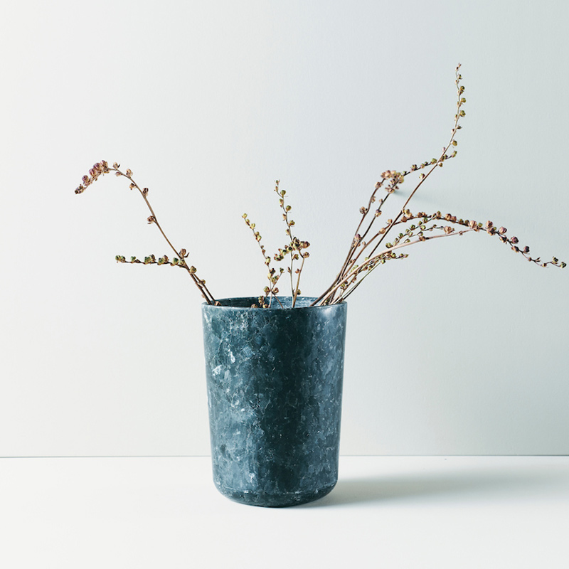 Essence vase (M) Lundhs Emerald