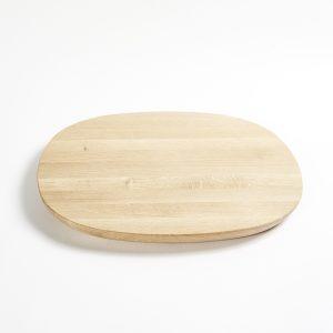 Essence oak platter L