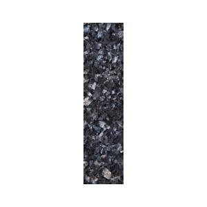 Stavflis i blågrå norsk naturstein med blå og sølv feltspatkrystaller